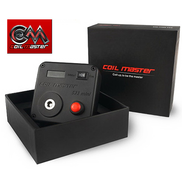 Coil master 521 MINI TAB ohmmetr / burning