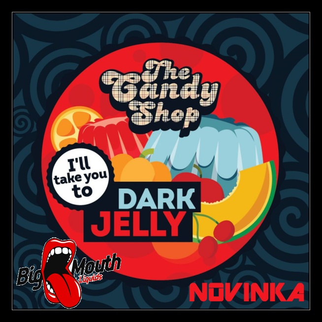 Aroma Big Mouth - The Candy Shop DARK JELLY 10ml