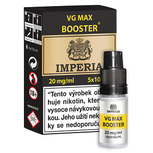 Booster báze Imperia VG Max (0/100) 20mg / 5x10ml