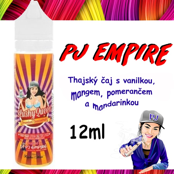 Aroma PJ Empire Slushy Queen Thai Chai Boba on The Roxx 12ml