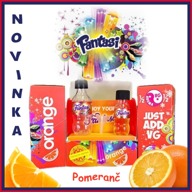 Fantasi the ohm AROMA kit ORANGE