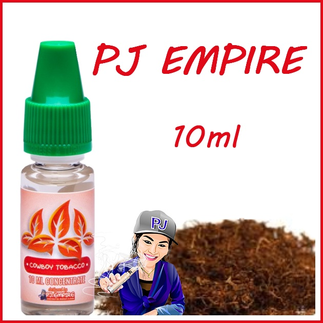 PJ Empire Straight Line Cowboy Tobacco 10ml