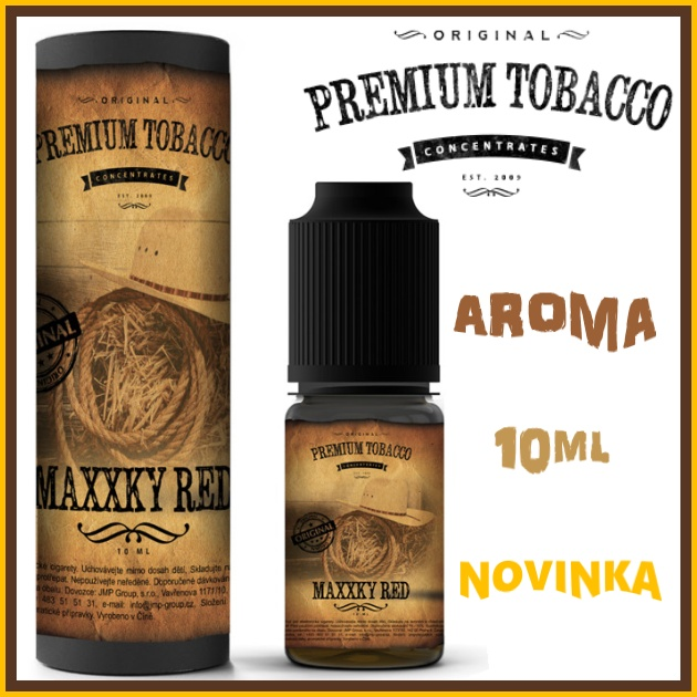 AROMA PREMIUM TABACCO MaXXky Red 10ml