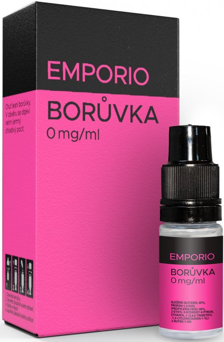 E-liquid EMPORIO Borůvka 0mg / 10ml