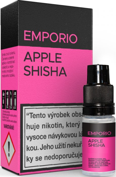 E-liquid EMPORIO Apple Shisha 0mg / 10ml