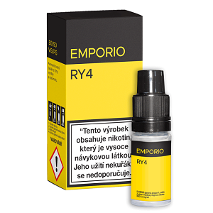 E-liquid EMPORIO RY4 0mg / 10ml