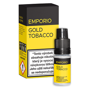 E-liquid EMPORIO Gold Tabacco 0mg / 10ml