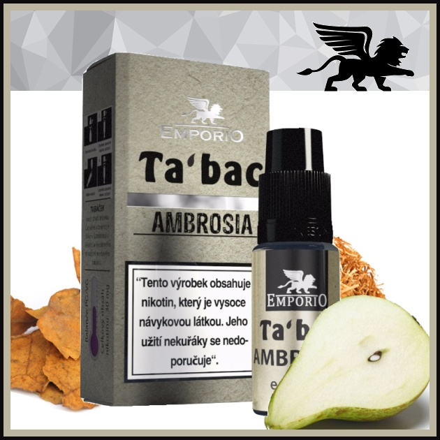 E-liquid EMPORIO Ambrosia 0mg / 10ml