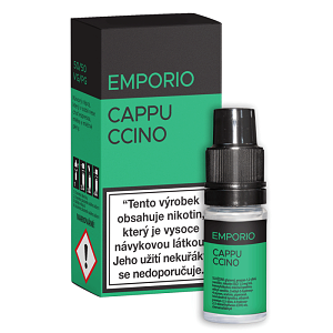 E-liquid EMPORIO Cappuccino 12mg / 10ml