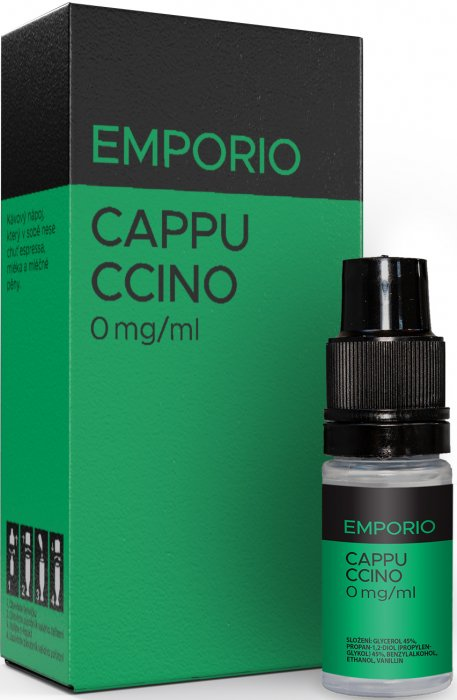 E-liquid EMPORIO Cappuccino 18mg / 10ml