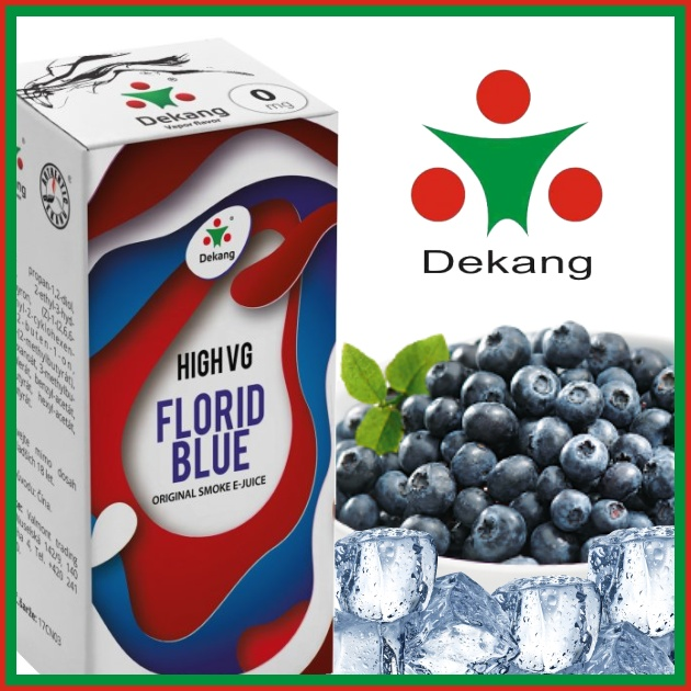 E-liquid DEKANG HIGH VG FLORID BLUE 10ml / 0mg