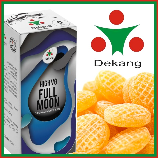 E-liquid DEKANG HIGH VG FULL MOON 10ml / 0mg