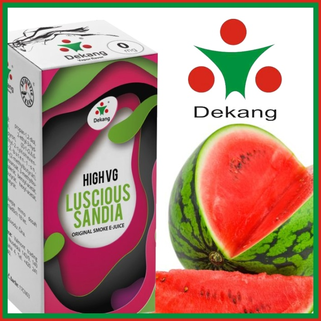 E-liquid DEKANG HIGH VG LUSCIOUS SANDIA 10ml / 0mg