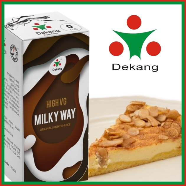 E-liquid DEKANG HIGH VG MILKY WAY 10ml / 0mg