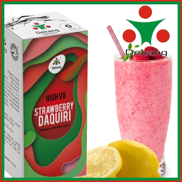 E-liquid DEKANG HIGH VG STRAWBERRY DAQUIRI 10ml / 0mg