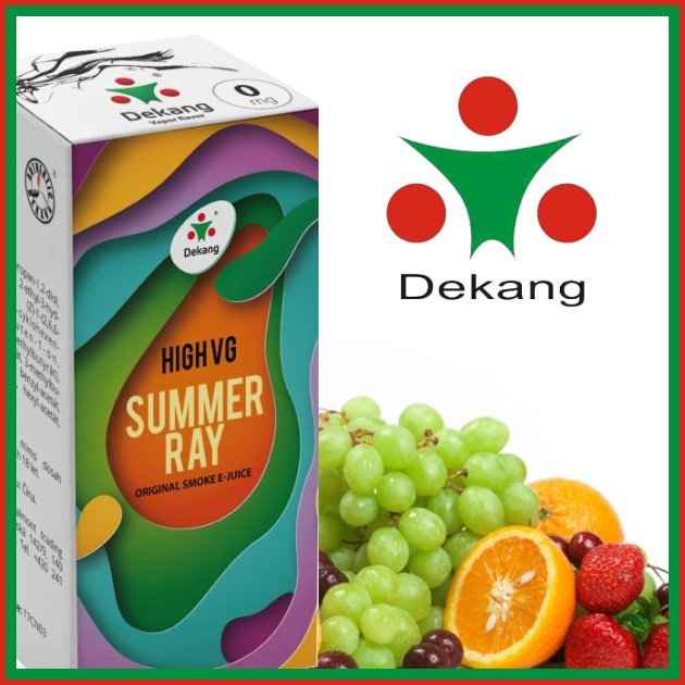 E-liquid DEKANG HIGH VG SUMMER RAY 10ml / 0mg