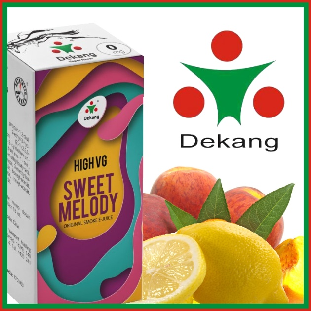 E-liquid DEKANG HIGH VG SWEET MELODY 10ml / 0mg