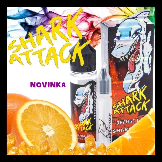 SHARK ATTACK ORANGE BALL aroma shot 10 ml