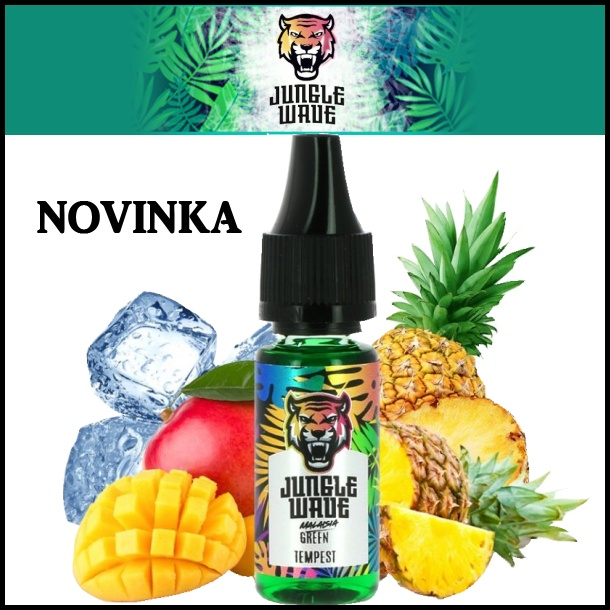 JUNGLE WAVE Green Tempest 10ml