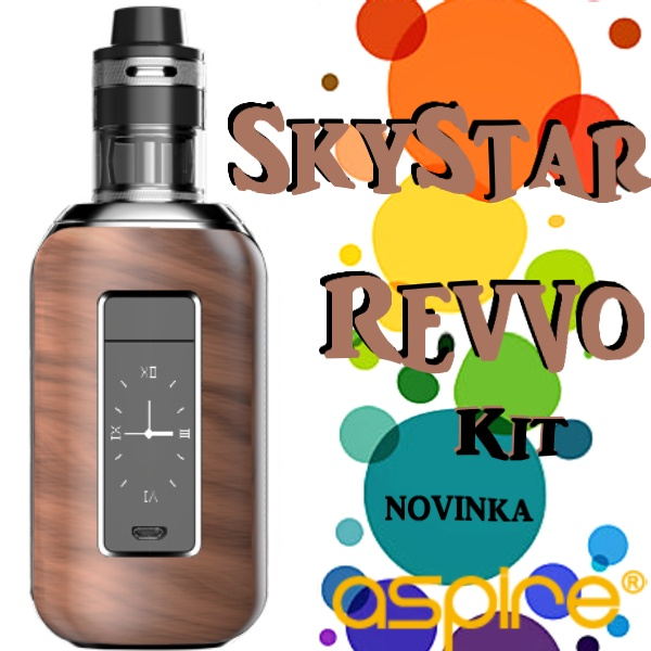 Aspire SkyStar 210 W Revvo Kit Woodgrain effect