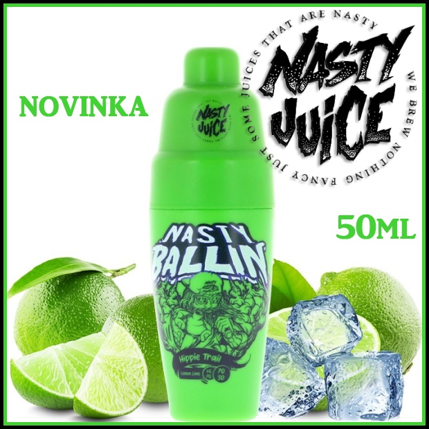 NASTY JUICE Shake 'n Vape HIPPIE TRAIL 50ml