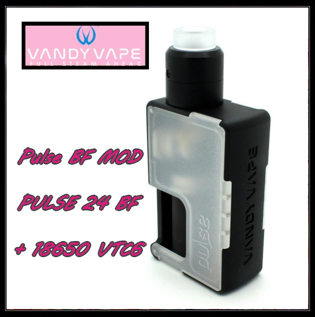 VANDY VAPE PULSE BF KIT Transparent white