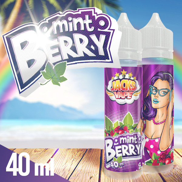 Jacks Vape Berry Mint aroma shot 40 ml