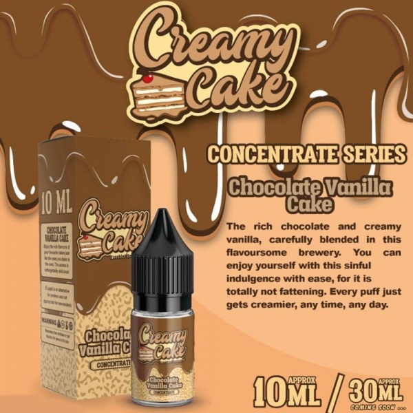 Creamy Cake Chocolate Vanilla Cake 10ml