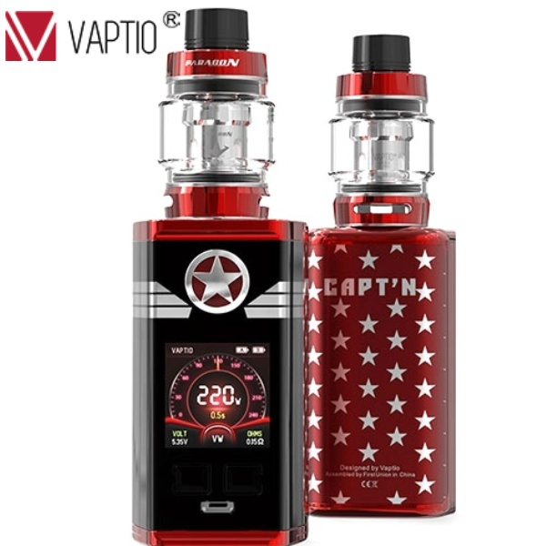 VAPTIO CAPT´N TC220W grip FUL0L KIT Red
