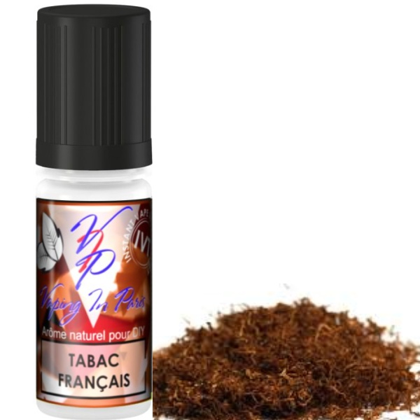 VIP (VAPING IN PARIS) French 10ml (Tabak Francais)