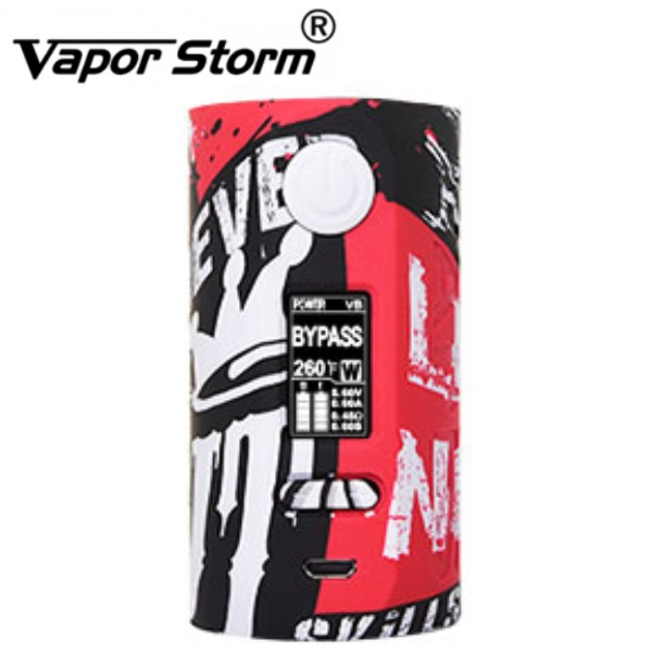 VAPOR STORM Puma 200W Grip Easy Kit Graffiti 1