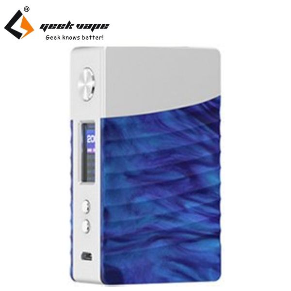 GeekVape NOVA TC 200W grip Easy Kit Silver-Cobalt