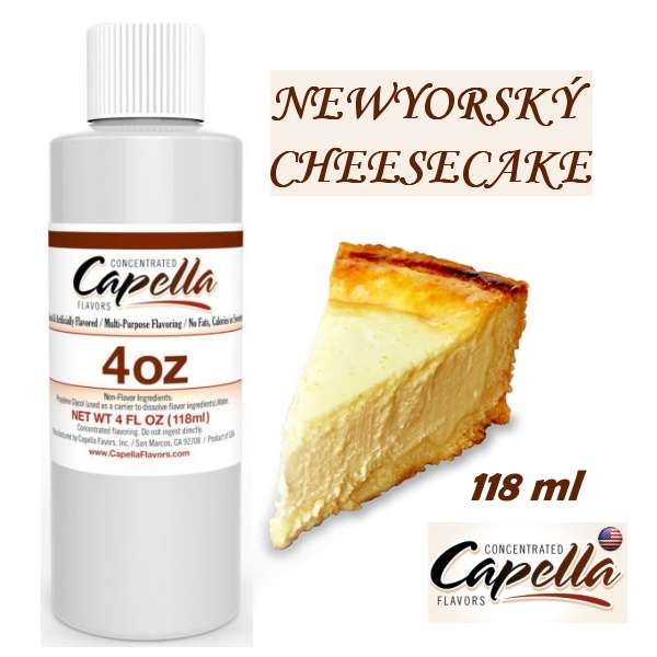 Capella flavors Newyorský Cheesecake 118ml