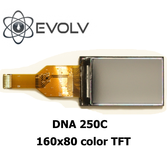 Display pro EVOLV DNA 250C /75C