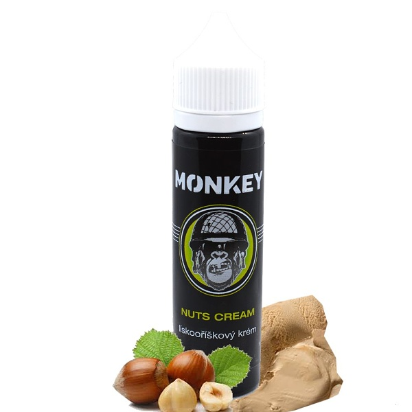MONKEY liquid Nuts Cream Shake and Vape 12ml