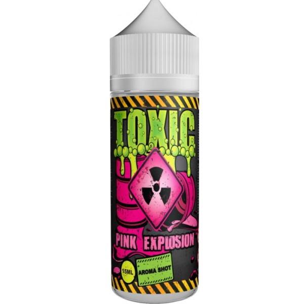 TOXIC Shake and Vape 15ml Pink Explosion