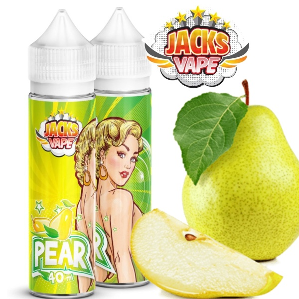 Jacks Vape Pear aroma shot 40 ml