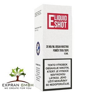 Booster Eliquid shot 70/30 20 mg /10 ml
