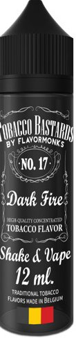 Flavormonks Tobacco Bastards Shake and Vape 12ml No.17 Dark Fire