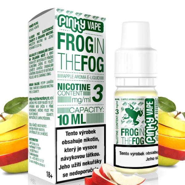 Pinky Vape Frog in the Fog 0mg/10ml