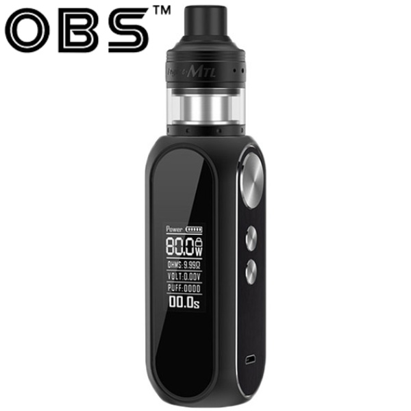OBS Cube MTL 80W Grip 3000mAh Full Kit Black