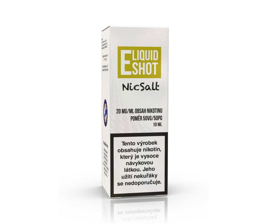 ELIQUID SHOT BOOSTER NICSALT 50/50 20mg 1x10ml