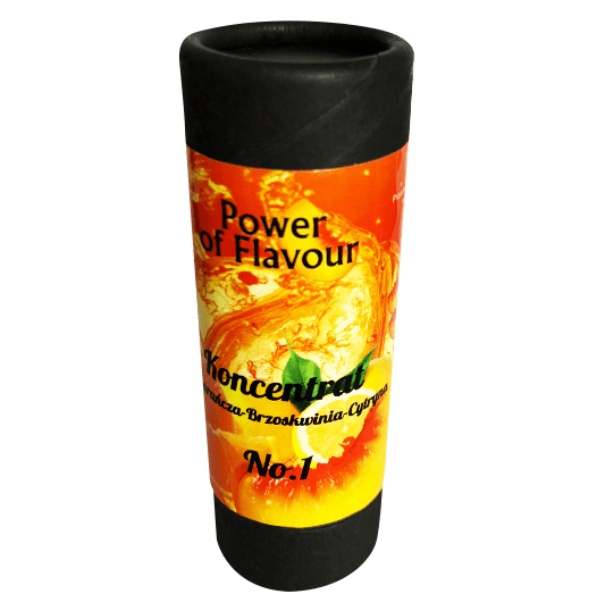 Power of flavour 10ml No. 1 (Pomeranč, broskev, citron)