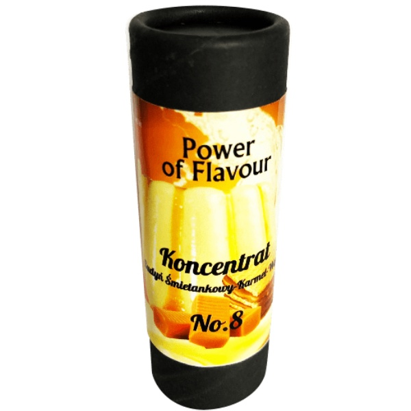 Power of flavour 10ml No. 8 (Krémový pudink, karamel, vafle)