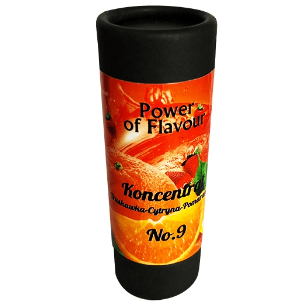 Power of flavour 10ml No. 9 (Jahody, citron, pomeranč)