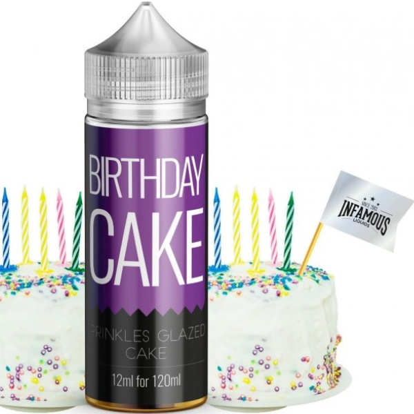 INFAMOUS Originals 12ml Birthday Cake