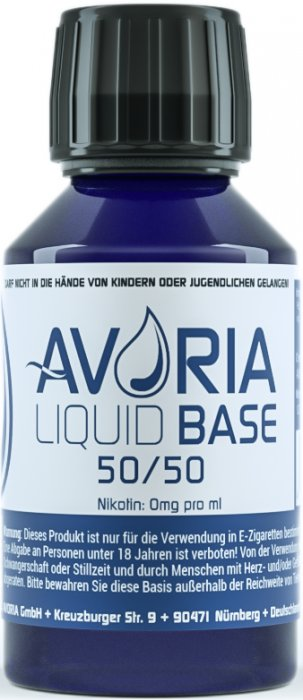 Avoria báze 100ml 50/50