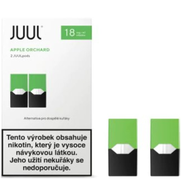 JUUL cartridge Apple Orchard 18mg 2pack