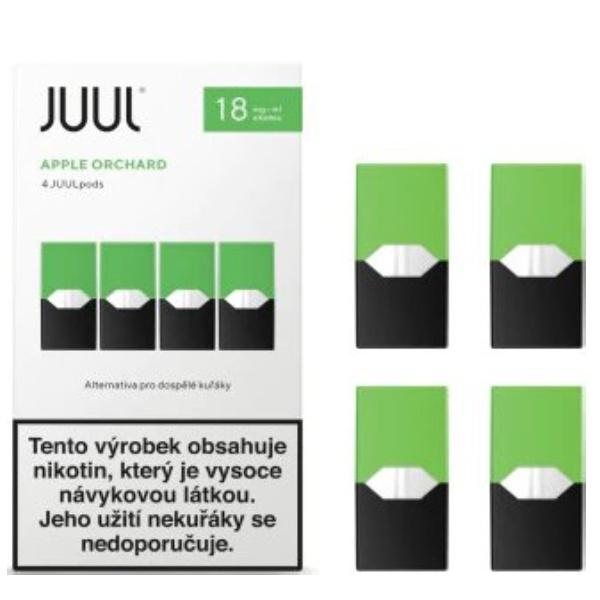 JUUL cartridge Apple Orchard 18mg 4pack