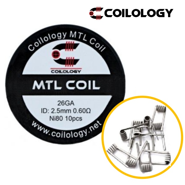 Coilology MTL coil NI80 0,6ohm 10ks